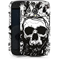 Samsung Galaxy S3 mini Hülle Premium Case Cover Totenkopf Skull Halloween