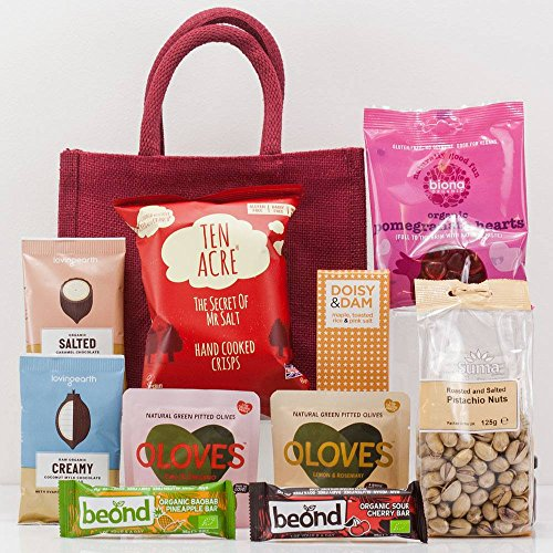 Natures Hampers Classic Craft Beers Snacks Gift Bag Luxury Craft