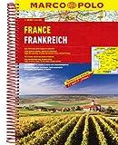 MARCO POLO Reiseatlas Frankreich 1:300.000: Wegenatlas 1:300 000 (MARCO POLO Reiseatlanten) -