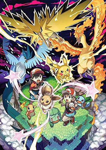 Pokemon: Let's Go, Pikachu! and Let's Go, Eevee! Poster
