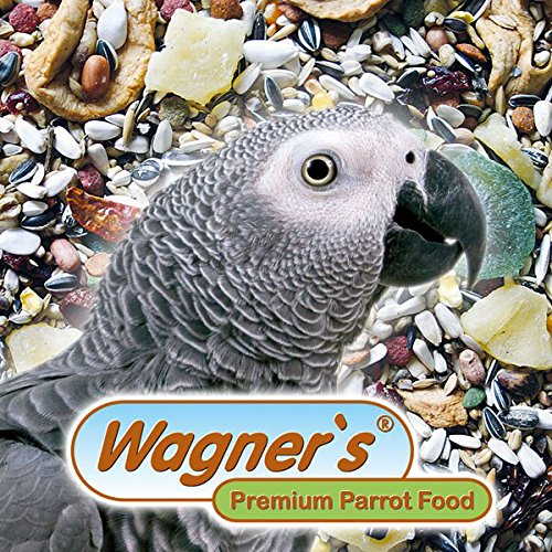 Wagner's | raupapageienfutter - 1 kg Wagner's Saatenmischung für Graupapageien