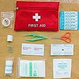 Auntwhale Mutil Funktion Erste-Hilfe-Aufbewahrungstasche Paket SOS Notfallversorgung Outdoor Survival Camping Wandern Werkzeugsatz tragbar