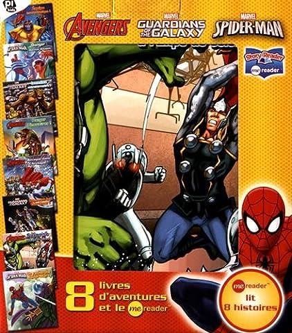 Coffret Marvel Avengers, Gardian of the Galaxy, Spider-Man : 8