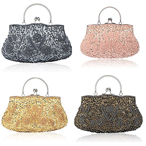 SSMK Evening Bag, Poschette giorno donna Silver