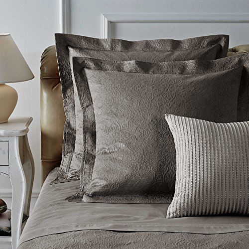 Frette Home Arabesque Fashion Standard Kissen Sham in Stone -