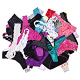 UWOCEKA Sexy Underwear, Kinds of Women Thong G-String Underpants Briefs Sexy Knickers Lacy Panties Multipack