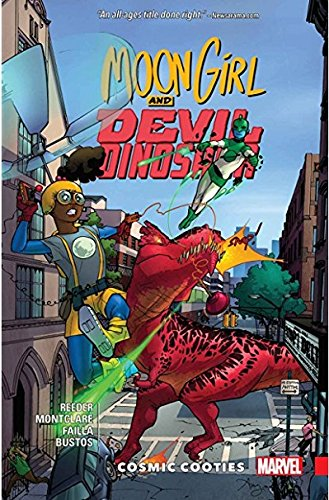 Moon Girl and Devil Dinosaur Vol. 2: Cosmic Cooties por Amy Reeder