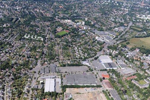 MF Matthias Friedel - Luftbildfotografie Luftbild von Rugenbarg in Lurup (Hamburg), aufgenommen am 05.07.09 um 14:16 Uhr, Bildnummer: 5367-03, Auflösung: 6048x4032px = 24MP - Fotoabzug 50x75cm