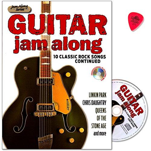 Guitar Jam Along III–10Classic Rock Canciones continued–Canciones con Riffs, Soli, begleit Voces, Tablatura, Textos–Ordenador libro con CD y Dunlop Púa–Verlag Bosworth Music–boe7868–9783865439703
