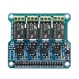 MYAMIA 4 Canali 5A 250V Ac/30V Dc 40Pin Compatibile Scheda Relè Per Raspberry Pi A + B + 2B/3B