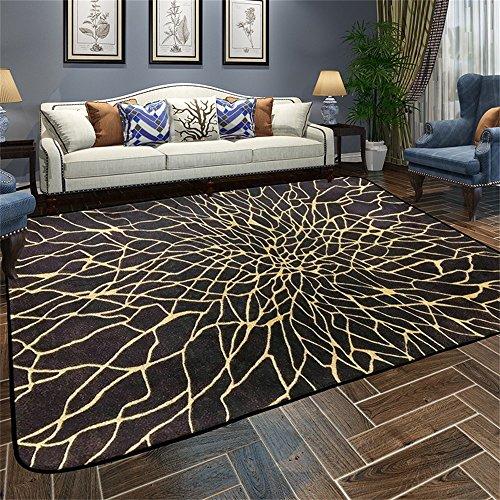 Wohnzimmer Moderne Schlafsofa (Designer-Teppich Nordic Modern Simplicity Abstrakt Persönlichkeit Geometrie Teppich Wohnzimmer Couchtisch Schlafsofa Nachttisch Teppich mit 5 Farben und 5 Größen ( Farbe : A , größe : 120*180CM ))
