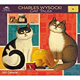 Charles Wysocki Cat Tales 2015 Deluxe Wall Calendar by 2015 Calendars