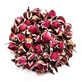 TooGet Fragrant Natural Deep Red Rose Buds Rose Petals Organic