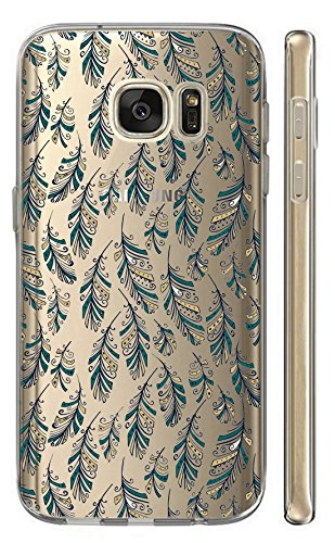 Samsung Galaxy S5 Mini G800 Softcase Cover Backkover TPU Schutzhülle Slim Case (2575 Federn)