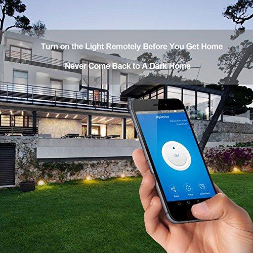 AOGETYO Smart WIFI Wall Light Switch 3 Gang Wireless Glass