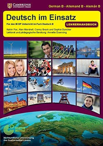 Deutsch im Einsatz Teacher's Book (German Edition) by Katrin Fox (2016-01-14)