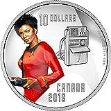UHURA Communications Officer Star Trek Silver Coin 10$ Canada 2016 Münze