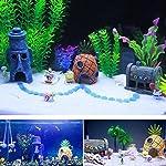 Ishowstore Spongebob Fish Tank Ornament Aquarium Decorations Squarepants Ornaments pineapple house (Pack of 3) 10