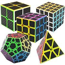 Speed Cube Ensemble Pyraminx + Megaminx + 2x2x2 + 3x3x3 + 4x4x4 5 Pack dans  Boîte fa8d00cbb73e