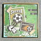 3D Karte Soccer inkl. Umschlag