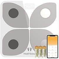 Bilancia Pesapersone Digitale Bilancia Pesapersone con Bluetooth Bilancia Pesa Persona Digitale con App - Misura Peso…