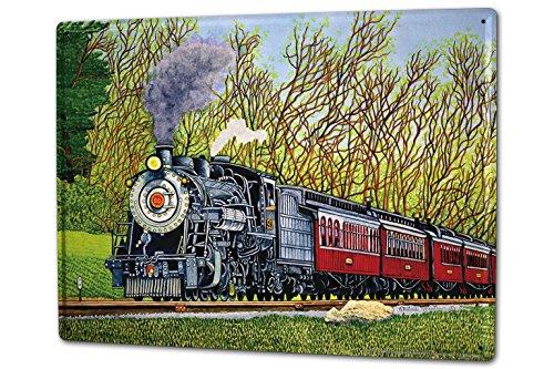 cartel-letrero-de-chapa-xxl-modelo-ferrocarril-tren-idilio-nostalgia