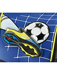 Step by Step Comfort Top Soccer, 4pezzi-Set scuola, calciatore