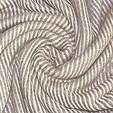 Lorenzo Cana Kaschmir-Decke Wohndecke Decke 100% Kaschmir handgewebt Sofadecke Kaschmirdecke Wolldecke Creme Beige Hellbraun 96274