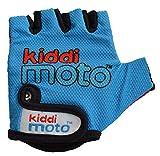Kiddimoto GLV003S - Sport und Fahrrad Handschuhe für Kinder Design, Größe S, 2-5 Jahre, blau