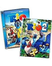 2 Movies Collection: Rio + Rio 2