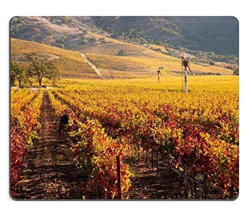 MSD Natural Rubber Gaming Mousepad IMAGE ID: 27874316 Napa Valley Vineyard in Autumn (Napa Computer)