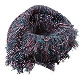 Tassel Schal Frauen Herbst Und Winter Saison Verdickung Warm Collar Schal Schön