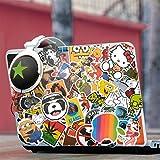 Sticker Pack [210 Pcs] Graffiti Stickers Decals Vinyls for Laptop, Children, Car, Motorcycle, Bicycle Hippie Luggage Skateboard Laptop Car Bumper Sticker von Superiox