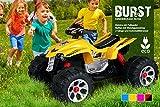 Kinder Elektro Quad BURST 2 x 35 Watt Motor Original Kinder Elektro Auto Kinderauto Kinderfahrzeug (gelb)