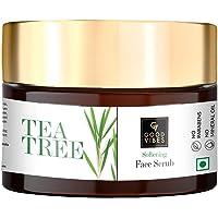 Good Vibes Softening Face Scrub - Tea Tree (50 g)