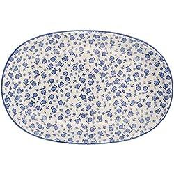 Ib Laursen Teller oval Ida blau