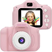 CloudConcept Kids Camera for Girls & Boys, 2MP 1080P Toddler Digital Camera Lens 2.0 inch FHD Screen for Children…
