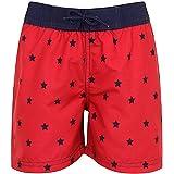 Pantalones cortos de natación para niños Nifty con estampado de playa hawaiana para surf