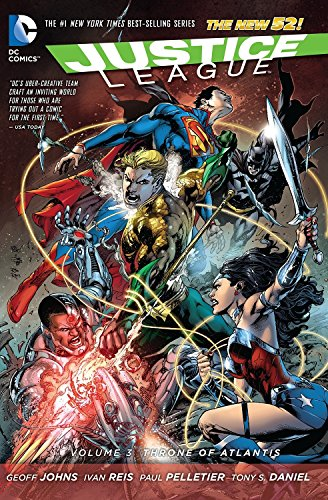 Justice League Vol. 3: Throne of Atlantis (The New 52) (Justice League: the New 52, Band 3)