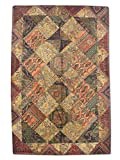 Pak Persian Rugs Handgeknüpfter Flicken Teppich, Mehrfarbig, Wolle, Medium, 171 X 255 cm