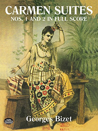 Georges Bizet: Carmen Suites Nos. 1 And 2 In Full Score. (Dover Music Scores)