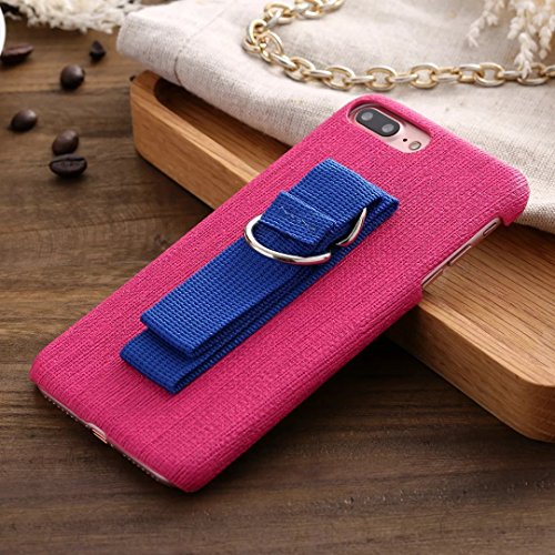Case Cover IPhone 7, tessitura trama modello di plastica dura della copertura posteriore con lanello Cordino per Apple IPhone 7 ( Color : 3 , Size : IPhone 7 ) 2