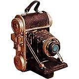LINVINC Adornos de Cámara de Resina Vintage - Ornament de Artesanía de Arte para la Decoración del Hogar Colección Figurilla