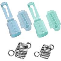 AIEX 6 Pièces Porte-Doigt De Guide De Fil, 4 Pièces en Plastique à Tricoter Dé à Tricoter Boucle à Tricoter, Anneau Au…