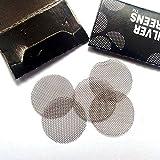 Hemore - Filtri per pipa in acciaio, 50 pezzi, 2 cm
