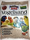 Vogelsand 4 x 2,5 kg = 10 kg Sparpack - hygienisch + keimfrei in bester Qualität
