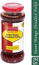 Ready to Eat Sweet Mango Shredded Pickle by Fazlani Foods, 350 GMS