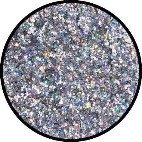 (Eulenspiegel 906989 - Silber-Juwel (mittel), holographisch, 6g)