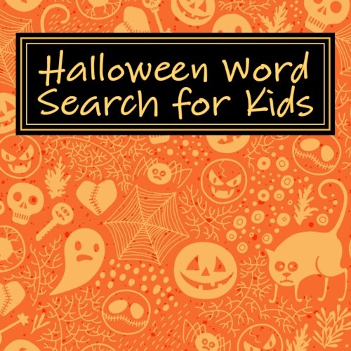Halloween Word Search for Kids (Search Word Halloween)