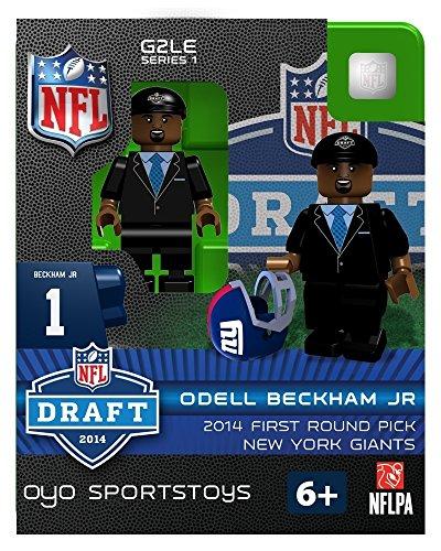 Preisvergleich Produktbild OYO Sportstoys NFL Odell Beckham Jr. New York Giants 2014 Draft Day Minifigur